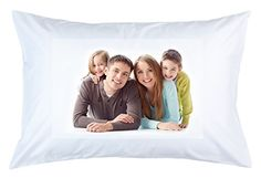 RitzPix Customizable Polyester Pillow Case Perfect Personalized Gift -- Find out more about the great product at the image link. Personalized Pillow Cases, Personalized Gifts, Christmas Pillow Covers, Facebook Image, Thoughtful Gifts, Own Home, Snug Fit, Read More, Decorative Pillows