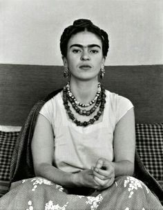 i WILL NOT appoligize for shredding your flesh in the battle for you. i WILL kiss the wounds even after they have mended. Photo: Manuel Alvarez Bravo, Frida Khalo, 1930.