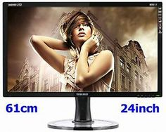 Yamakasi 2440WHD LED Full HD Monitor 61cm(24inch) Black 6ms Wide 16:9 Bi-Tech