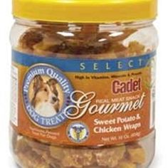 Sweet Potato  Chicken Wrap Dog Treats, 1 lb. for only $11.99 You save: $6.00 (33%) + Free Shipping