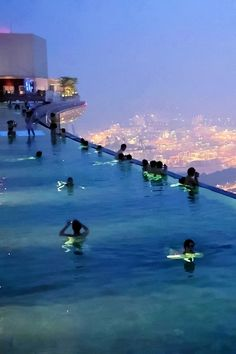 Rooftop Pool, Singapore (add: the infinity pool on the very top of Marina Bay Sands Hotel- Places Around The World, Oh The Places You'll Go, Places To Travel, Around The Worlds, Travel Local, Travel Destinations, Dream Vacations, Vacation Spots, Honeymoon Spots