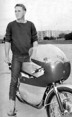 McQueen & Race Bike