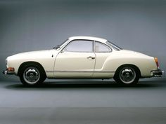 VW Karmann Ghia Coupé - my high school boyfriend had this same car. I always smile when I see one on the road!!! Classic!!