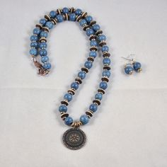 Necklace by Amy Freeland no blogue Copper Diem