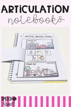 Interactive Articulation Notebooks are fun and engaging activities for speech therapy!