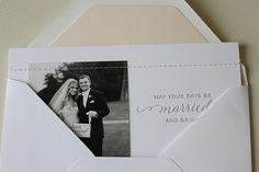 """just married holiday card"" by sugar paper"