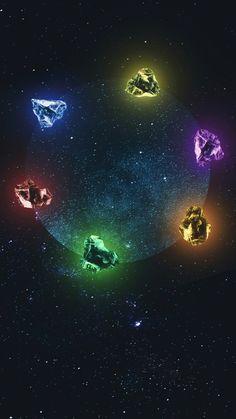 My infinity gems Avengers Infinity Stones, Infinity Gems, Marvel Infinity, Avengers Symbols, Avengers Shield, Marvel Avengers, Iphone Background Disney, Marvel Background, Deadpool Wallpaper