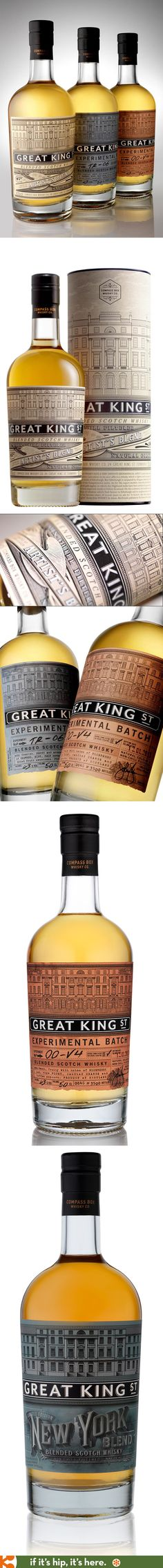 Great King Street Whiskies - Artist's Blend and Experimental Batch blends 1 and 2.