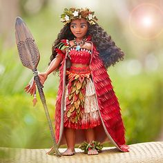 [Ocean reign]The adventurous seafaring teenager Moana rules the waves as this limited edition doll. Dressed in her spectacular and detailed costume, this beautifully designed doll captures our heroine& natural draw to the ocean and her South Seas style. Moana Disney, Disney Fan, Disney Love, Disney Magic, Disney Pixar, Disney Stuff, Disney Nerd, Disney Frozen, Walt Disney