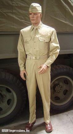 WW2 US Army Summer Uniform
