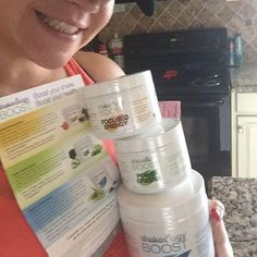 Just when I think it can't get any better my doorbell rings with a full shipment of the all new Shakeology boosts! #eliteperks  Beachbody you seriously SPOIL us!  I'm that girl who never gets enough greens in, I struggle with my veggies daily so I am thrilled to use the Greens boost in my shake & get that extra serving of veggies!! AND the focused energy boost was my FAV, I got to try it this past weekend & it helped me go strong all day without any caffeine and no crash!  #boostup