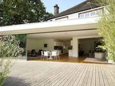House Extension- Muswell Hill - contemporary - family room - london - by Gregory Phillips Architects 1930s House Extension, Glass Extension, Extension Ideas, Extension Google, Room London, London House, Contemporary Family Rooms, Contemporary Homes, Architects London