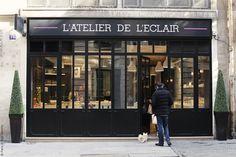 L'atelier de l'eclair, 16 rue bachaumont, 75002 Eclair Paris, London Paris Rome, Tour Eiffel, I Love Paris, The Beautiful Country, France, Travel Guides, Parisian, Atelier