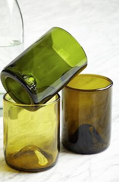 recycled punt glassware http://rstyle.me/n/pu34vr9te
