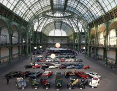 The auction will begin on February 5 with 447 lots set to be made available to bidders, ranging from gorgeous examples from automobile history to smaller pieces of memorabilia including books and vintage tools. Grand Palais, Vintage Tools, Auction, Street View, Paris, History, Gallery, Gentleman, Photograph