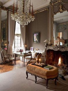 Classic interior, brown interior, country interior, home interior design, l Classic Interior, Home Interior Design, Interior Decorating, Country Interior, Brown Interior, Interior Ideas, French Living Rooms, French Country Living Room, Living Spaces