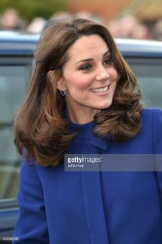 News Photo : Catherine, Duchess of Cambridge arrives to open...