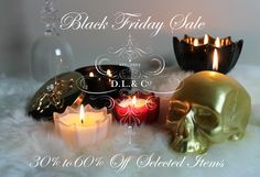Our #BlackFriday sale has started! Selected items 30% to 60% OFF while supplies last. www.dlcompany.com/Black-Friday-Sale_c_77.html