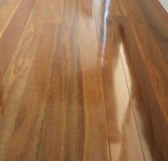 Spotted Gum timber floor with semi gloss coating