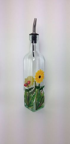 A personal favorite from my Etsy shop https://www.etsy.com/listing/230579151/dragonflies-and-sunflowers-olive-oil-or
