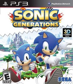 Sonic Generations Overview    Set across three defining eras from 20 years of Sonic the Hedgehog video game history, the instantly recognizable environments of Sonic Generations have been re-built in stunning HD and are now playable in both classic side scrolling 2D from 1991, as well as modern 3D style found in Sonic's most recent adventures.