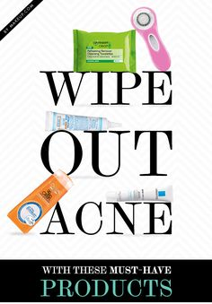 Whether treating acne has been a long fought battle for you, or a pesky blemish has miraculously turned into a pattern of breakouts, don't fret. Help is on the way in the form a few life-changing products.