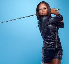 """""""Zakiya Randall 'Z', is the Youngest and First Black American Female Golfer to Win First Place, in US Womens Open Qualifier. Black History Facts, Black History Month, Black Girls Rock, Black Girl Magic, Kings & Queens, We Are The World, African Diaspora, African American Women, African Americans"""