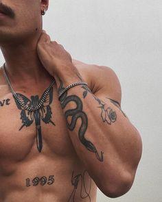 Torso Tattoos, Forearm Tattoos, Body Art Tattoos, Hand Tattoos, Sleeve Tattoos, Men Arm Tattoos, Tatoos, Hot Guys Tattoos, Neck Tattoo For Guys