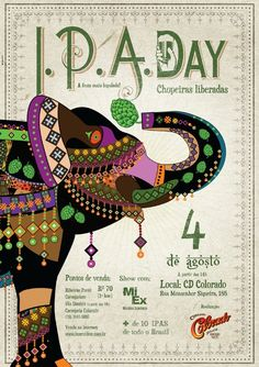 All Brazilian made IPAs in one bar. All you can drink. 4 August. Ribeirao Preto - SP, Brazil www.beeronline.com.br