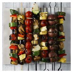 Slice, dice or skewer your veggies.