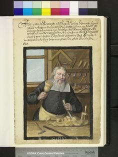 Wood carving - Amb. 317b.2° Folio 174 recto