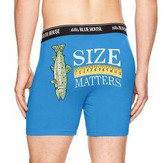 f41684ff1a Little Blue House by Hatley Men s Joke Boxers at Amazon Men s Clothing  store