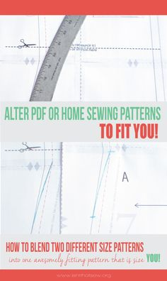 How to make patterns fit your body type | isntthatsew.org