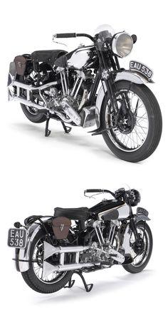 1937 Brough Superior SS100.