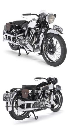 1937 Brough Superior SS100.