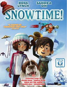 12/2. Win the DVD Snowtime!