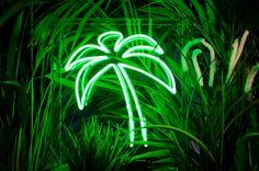 Palm Tree néon néon autonomes par sygns sur Etsy