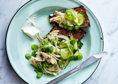 Staycation: Chicken Salad with Crème Fraîche and Rye