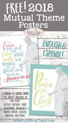 Free 2018 Mutual Theme Posters