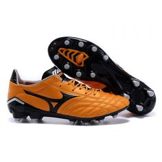 Mizuno Morelia Neo FG оранжевый черный футбольные бутсы для игры на твердом  грунте 07920a714c778