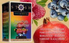 Stash Superfruits Tea Sampler makes a great time-out session for Moms!