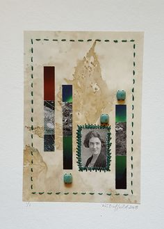 Collage Girls – Class of Botanist. I imagined this young woman collecting and classifying plants, perhaps she even became a mycologist, someone specialising in fungi. Classifying Plants, Girls Series, Fungi, How To Become, Collage, Frame, Artist, Woman, Picture Frame
