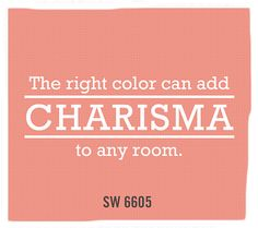 Sherwin-Williams paint color, Charisma (SW 6605)