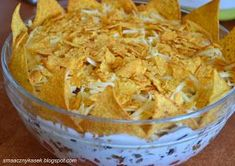 meksykański król imprezy, sałatka meksykańska, sałatka meksykańska z chipsami, sałatka z tortillą, sałatka z nachosami
