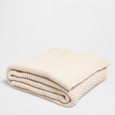 Baumwollstrickdecke - Decken - Schlafen | Zara Home Deutschland
