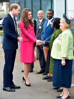 Catherine's final public appearance before giving birth - Kate Middleton Pictures - Woman And Home