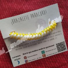 Survival bracelet that features paracord rope that hold approx. Once the rope is released it can be used to stop bleeding from a wound, hanging heavy objects, setting up tents, etc. Made with arrow knot. Paracord, Arrow, Knots, Arrows, Twine, Bangle, Tents, Objects