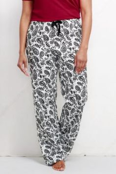 Women's Print Flannel Sleep Pants just what I need!!