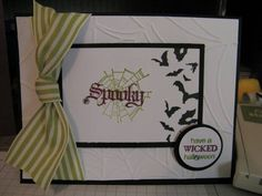Wicked Cool Card by wldstamperwoman - Cards and Paper Crafts at Splitcoaststampers