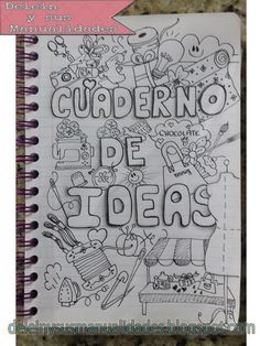 uploaded this image to & deleinysusmanualidades& de las ideas& See the album on Photobucket. What To Draw, How To Draw Hands, Filofax, Decorate Notebook, Bullet Journal Inspo, Moleskine, Journal Inspiration, Oeuvre D'art, Diy And Crafts